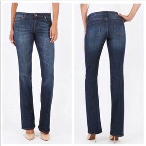 KFTK Natalie High Rise Bootcut Jeans